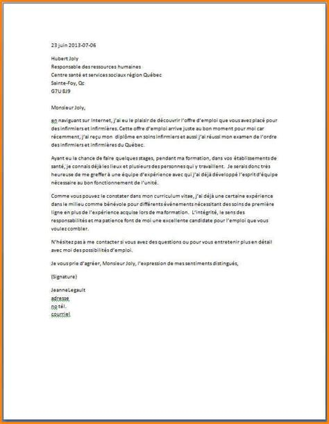 Lettre De Motivation Stage Benevolat 5 Lettre De Motivation Stage Infirmier Format Lettre