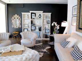 Home Decorating Ideas Black And White black living room ideas mixing is the key model home decor ideas