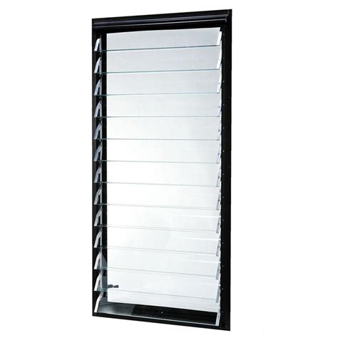 tafco windows jalousie aluminum utility windows 24 in x - Jalousie Metall