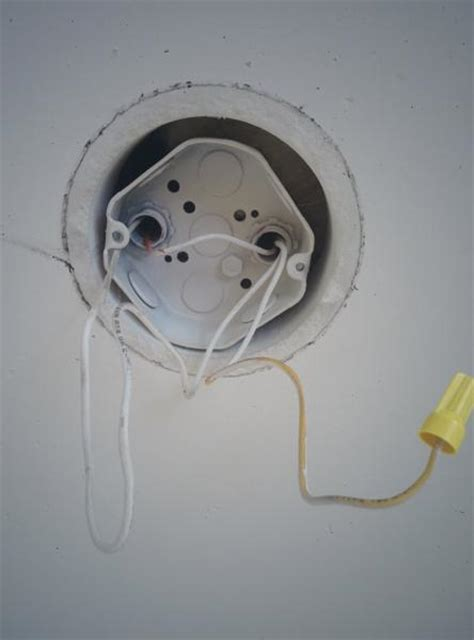 installing pendant light in ceiling junction box