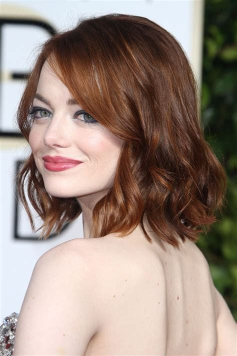 emma stone brown hair emma stone s hairstyles hair colors steal her style