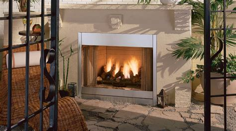 best outdoor gas fireplace insert designs ideas emerson