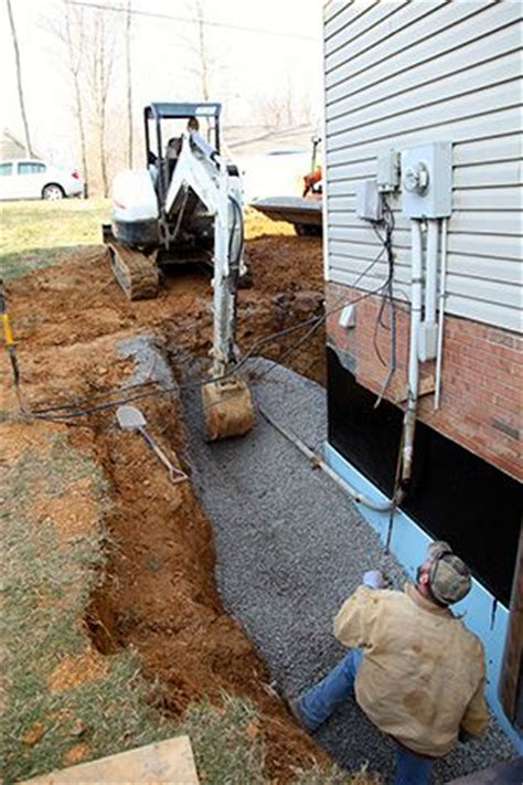 how to fix a wet backyard 25 best ideas about foundation repair on pinterest