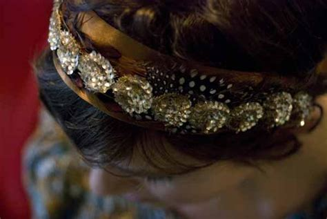Handmade Headband Ideas - diy bridesmaids headband once wed