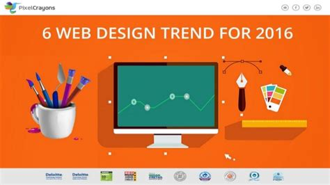 homepage design trends a look for web design trends 2016