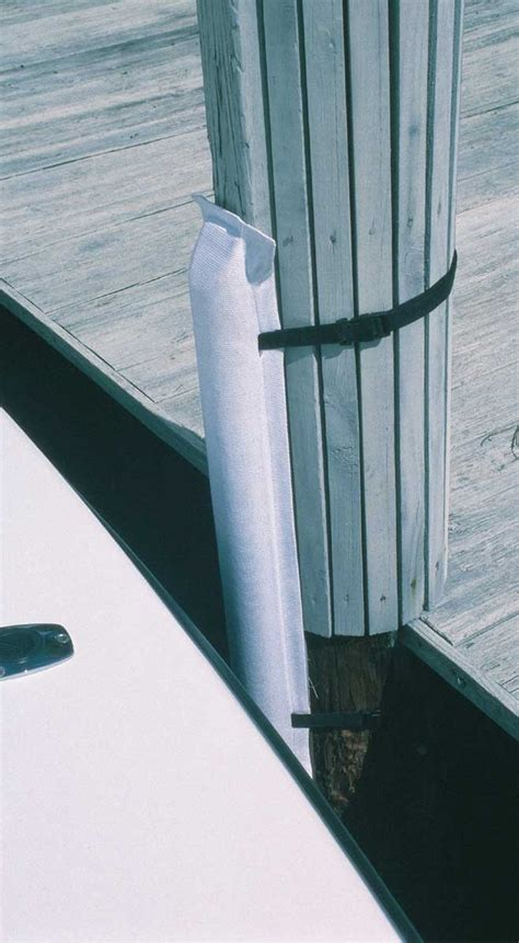 removable dock post bumpers for quick docking in - Boat Lift Post Bumpers