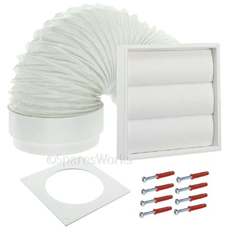 Where To Vent A Tumble Dryer - universal tumble dryer venting kit external vent wall