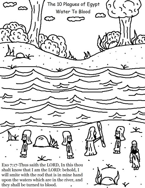 coloring pages ten plagues egypt the 10 plagues of egypt coloring pages