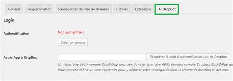 sauvegarder wordpress avec backwpup tutoriel comment sauvegarder un site wordpress en