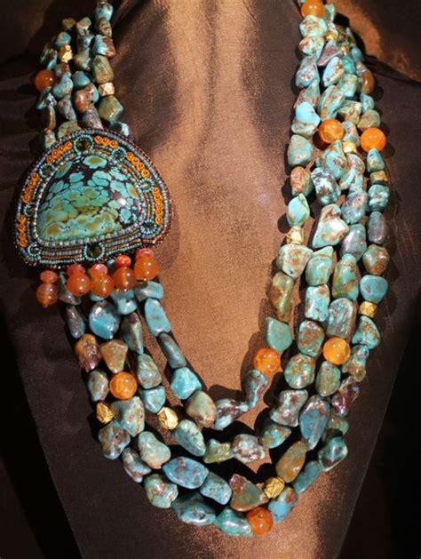turquoise stone bohemian jewelry designs hijabiworld