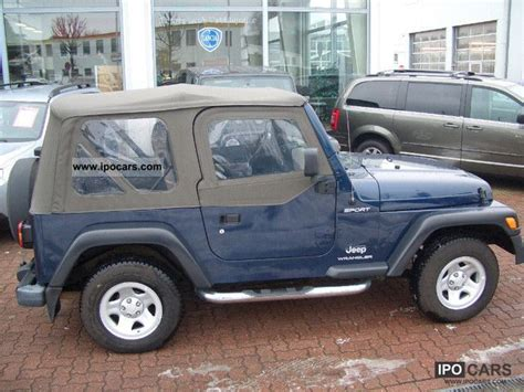 Jeep Sport Mpg 2006 Jeep Wrangler 2 4 Sport Low Mileage Softtop Car