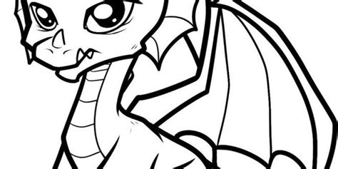 cute baby dragon coloring pages places  visit