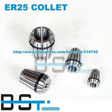Er25 1 Mm Collet Chuck Cnc Spindle Motor 1 Set 15pcs Er25 Collet Size From 2 16mm Chuck