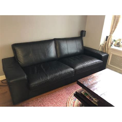 kivik leather sofa brokeasshome