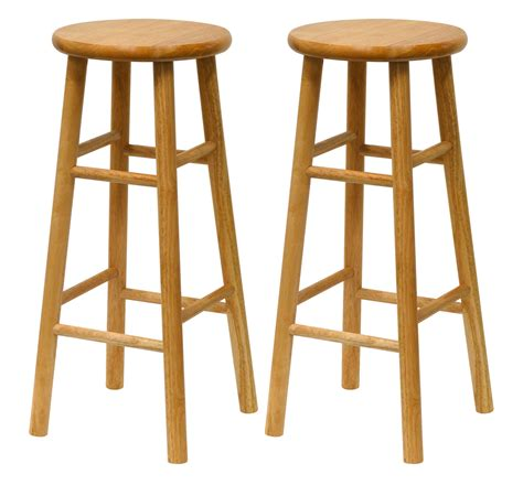 Set Of Bar Stools by Set Of 2 Bar Stools By Winsome Trading In Wood Bar Stools