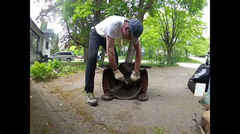 unsafe wood chipper   lawnmower youtube