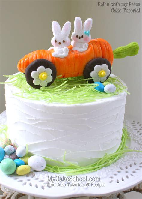 roundup    easter  springtime cakes tutorials  ideas  cake school