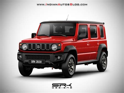 suzuki jeep 4 door 2019 suzuki jimny 5 door iab rendering