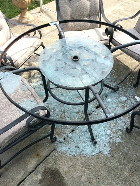 tempered glass table top replacement glass patio table parts