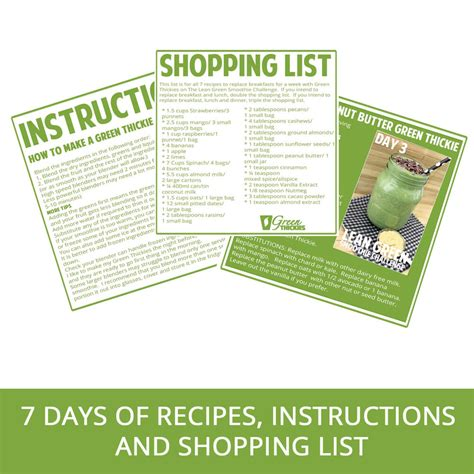 Green Smoothie Detox Shopping List by Green Smoothie Recipes 15 Recipes With Easy Ingredients
