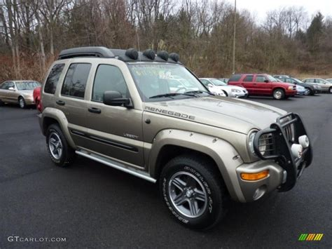 jeep renegade 2004 light khaki metallic 2004 jeep liberty renegade 4x4
