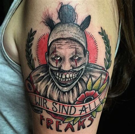 tattoo girl on american horror story 20 staggering american horror story tattoos you ll need to see