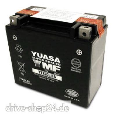 Motorradbatterie 12v 18ah by Drive Shop24 De Ytx20l Bs M 252 Nchen Batterie Akku
