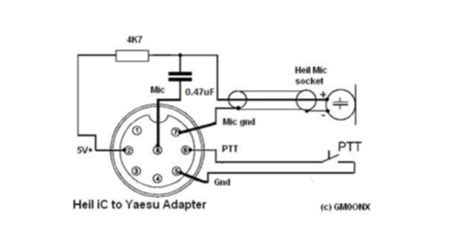 wiring diagrams cb radio microphones wiring get free