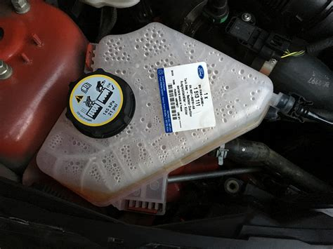 coolant reservoir cap stuck ford fiesta club ford owners club ford forums