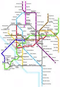 Image Of Metro Map by File Madrid Metro Map 1994 Png