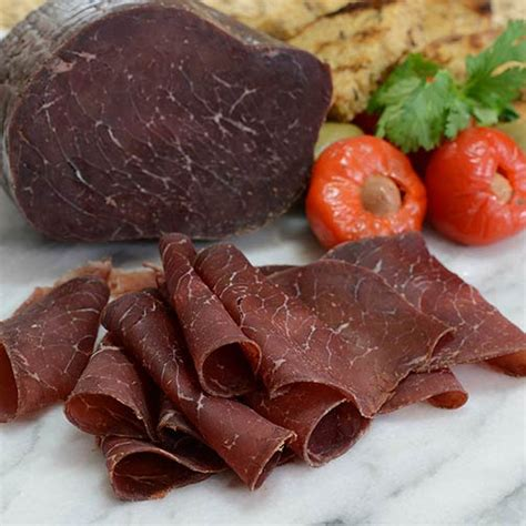 Endura Smoked Beef Medium fabrique delices air cured beef bresaola gourmet food world