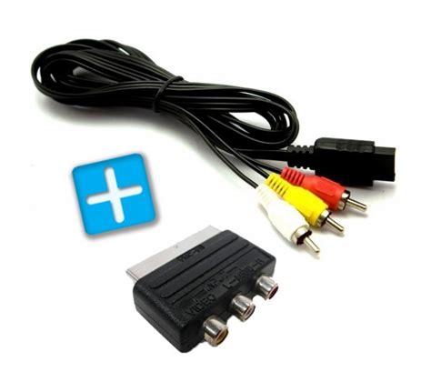 playstation 2 av scart kabel scart adapter neu bulk