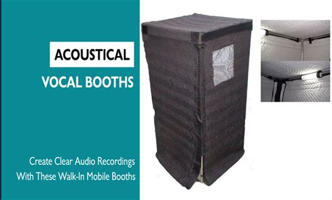 how to make a vocal booth in a bedroom acoustical vocal booths vocalboothtogo com