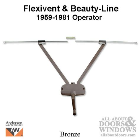 discontinued andersen awning window operator flexivent