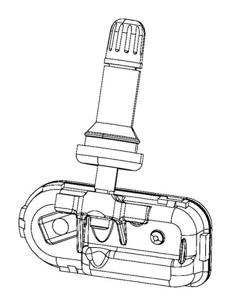 tire pressure monitoring 1992 jeep comanche navigation system 68249197aa jeep sensor tire pressure trim no description available mopar parts overstock