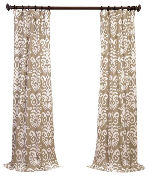gray printed curtains sri lanka printed cotton twill curtain single panel