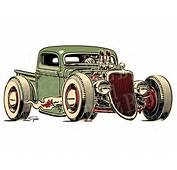 Hot Rod Truck Drawings  Google Search Jeeps Trucks Cars