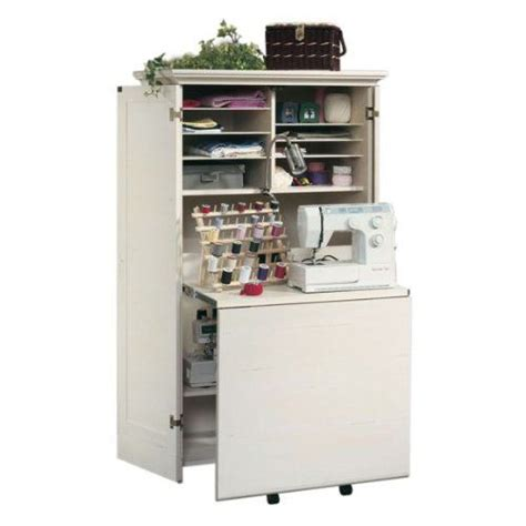craft armoire with pull out table 2 organization