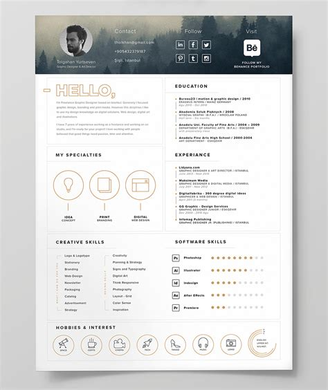 free resume template icon free design resources