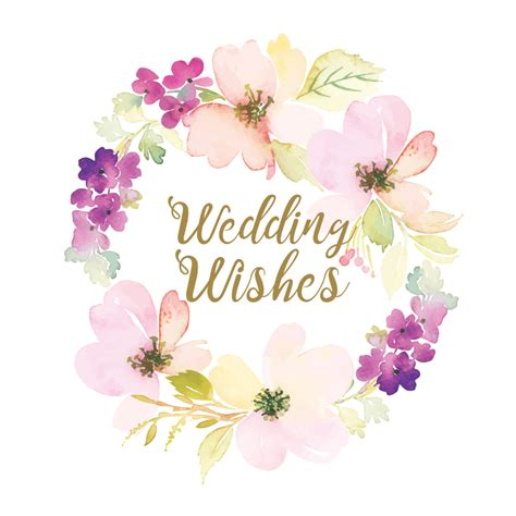 Wedding Wishes For And In by Wedding Wishes Free Wedding Congratulations Card