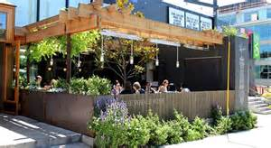 outdoor patio design of the whale wins restaurant seattle washington 171 design images photos