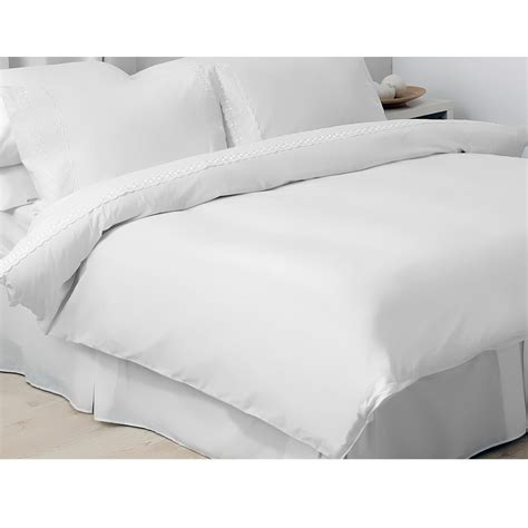 White Bed Linen Sets Belledorm Yasmin Bedding Set Floral Embroidery White Ebay