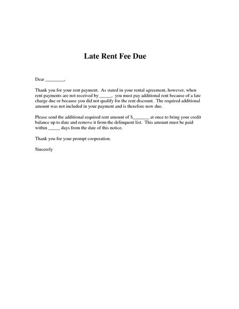 10 best images of late rent notice late rent notice