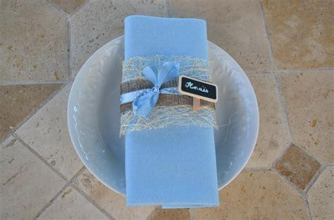 pliage serviette pour bapteme du petit garcon blog zodio