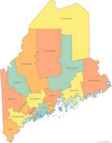 maine political map