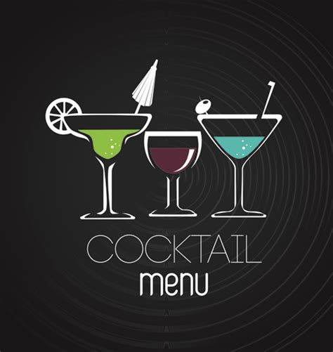 drink vector drink menu backgrounds images