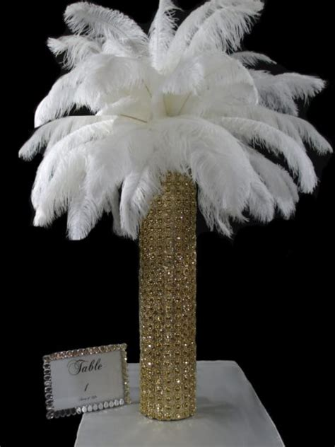 white feathers for centerpieces centerpieces using white feathers pictures to pin on