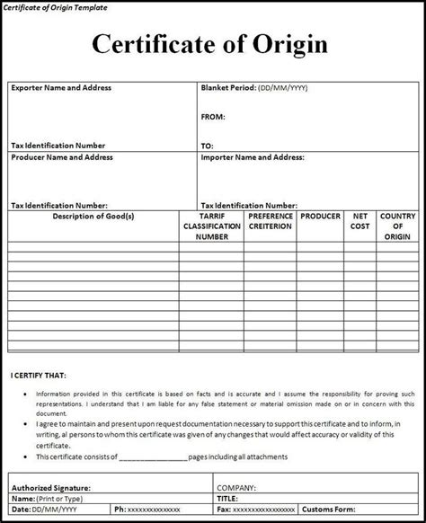 meaning of templates in 17 best import export shipping documents international