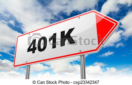 Drawing 401k by Drawing Of Inscription 401k On Road Sign 401k