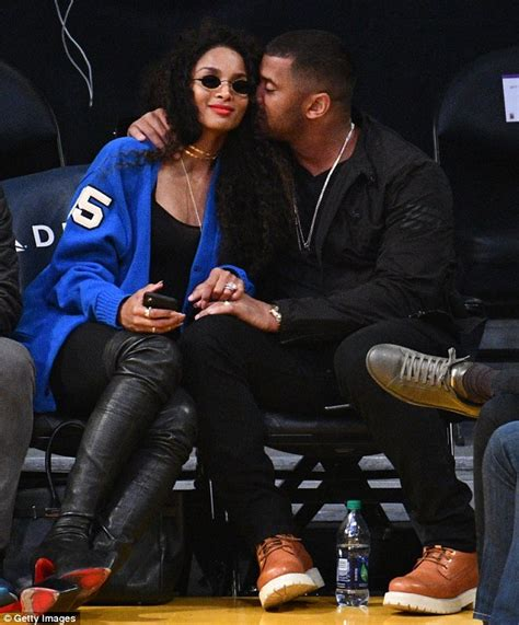 insider look at shake it up makeover russ wade of ciara and husband russell wilson look loved up at